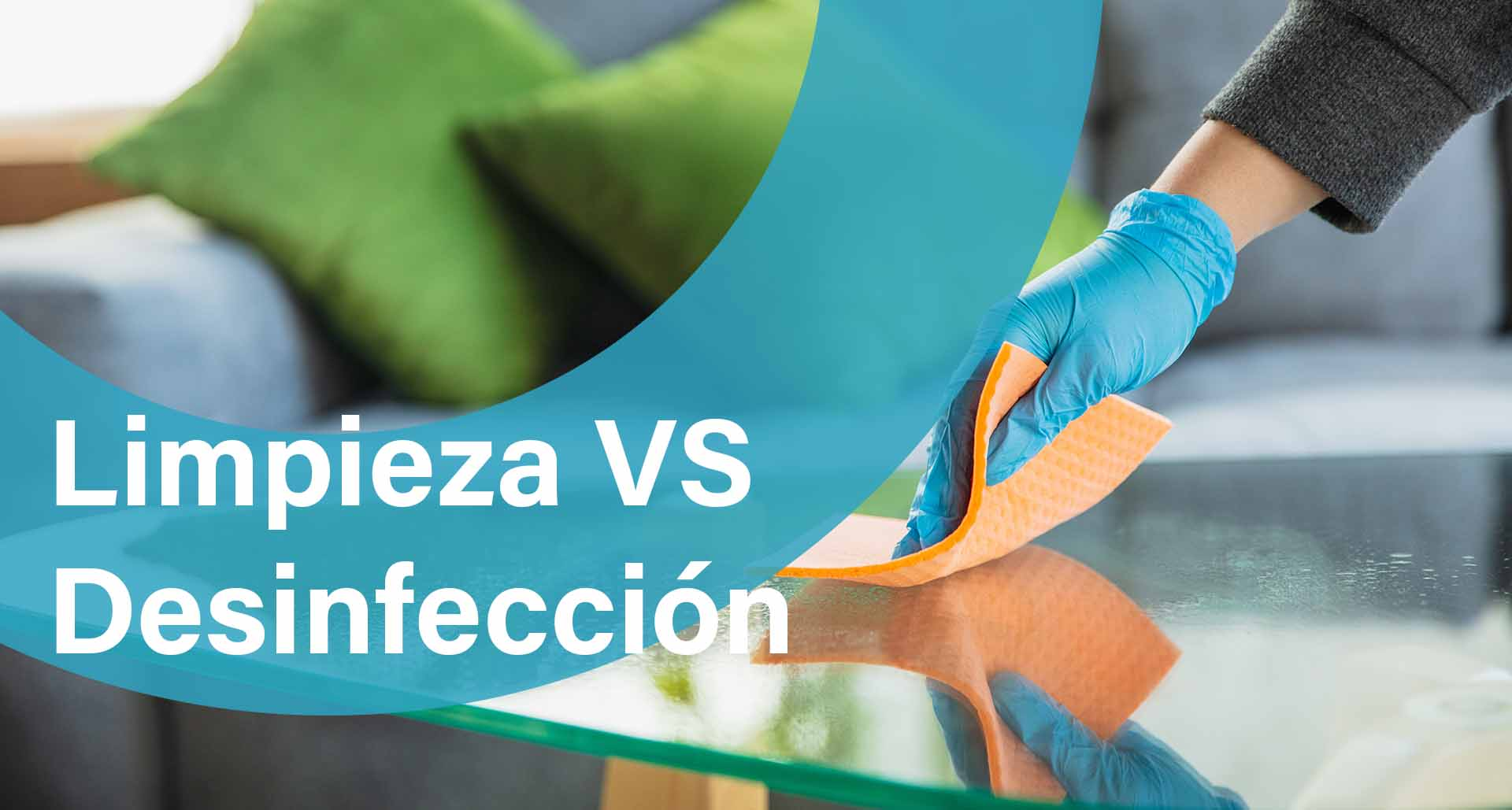 limpieza vs desinfección